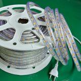 Tira morna 120V do diodo emissor de luz do RGB do branco com Ce RoHS ETL