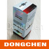 Rectángulo farmacéutico modificado para requisitos particulares del frasco del holograma del esteroide 10ml de la alta calidad
