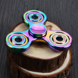 De kleurrijke tri-Spinner friemelt de Spinner van de Hand van de Spinner friemelt Spinner