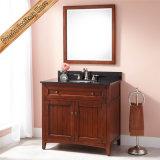 Gabinete branco moderno do banho da madeira contínua da vaidade do banheiro da madeira contínua de Fed-347A