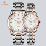 Quartz analogique Wristwatch70034 de datte de couples des montres des femmes d'hommes de mode