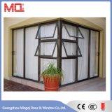 Gehangenes Fenster-preiswertes Aluminiummarkisen-Spitzenfenster Mq-06