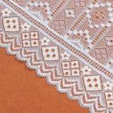Merletto viola della tessile del reticolo di colore del cavo del merletto della prugna fresca del tessuto
