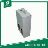Boîtes de présentation blanches pliables de Corrugtaed
