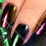 Kosmetische Farben-ändernde Perlen-Pigment-Chamäleon-Nagel-Pigmente
