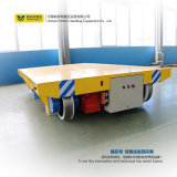 Carril eléctrico accionado del carrete de cable del uso de la fábrica que maneja el carro de la transferencia