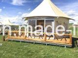 Waterdichte Vlam - het Kamperen van de vertrager de UV Bestand Tent van de Safari van de Tent