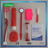Nécessaire ortho- dans le sac de déplacement gris, nécessaire orthodontique 8 dans 1