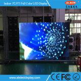 HD P2.973 임대 단계를 위한 실내 풀 컬러 사건 LED 스크린 널