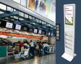 19-- Suelo del panel de la pantalla táctil del LCD de la pulgada que coloca el quiosco del monitor de la pantalla táctil del indicador digital