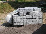 Piedra acera de granito gris claro con Ce