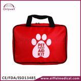 Kit de primeros auxilios portable profesional del perro de animal doméstico de la buena calidad