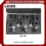 Py-7p Micrófonos profesionales de condensador Micrófono de batería
