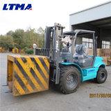 Ltma 새로운 디자인 포크리프트 3 톤 디젤 엔진 거친 지형 포크리프트