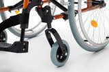 알루미늄 경량, 접히기, 휠체어 (AL-002B)