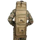 O armazenamento macio da trouxa do caso da pesca Rod do saco do injetor da caixa tática do rifle carreg o saco com a cinta de ombro acolchoada ajustável