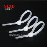 Nuovo legame di plastica di nylon 100mm*2.5mm della chiusura lampo della fascetta ferma-cavo 2.5X100mm di NlZD 2017