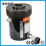 Cylindre hydraulique de plongeur creux à simple effet de soupape d'arrêt (SV18Y)