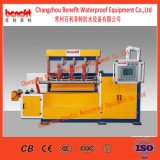 APP /Sbs änderte Bitumen-wasserdichte Membranen-Pflanze/geänderten bituminösen wasserdichten Geräten-/Waterstop Membranen-Produktionszweig