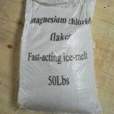 일반적인 마그네슘 염화물은 또는 노란 마그네슘 염화물 조각 얇은 조각이 된다