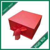 Оптовая изготовленный на заказ круглая коробка ювелирных изделий подарка (Fp600173)