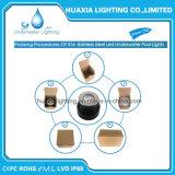 Indicatore luminoso messo subacqueo del raggruppamento di IP68 316ss LED