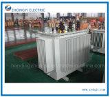 Tipo elettrico trasformatore a tre fasi dell'olio di distribuzione di energia del fornitore 11kv 33kv della Cina di 100kVA