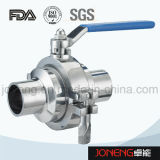 Шариковый клапан Non-Удерживания нержавеющей стали гигиенический зажатый (JN-BLV2006)