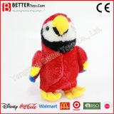 子供のための現実的なぬいぐるみのプラシ天の鳥のおもちゃの柔らかいMacaw