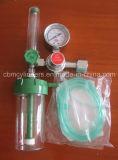 Medizinischer Sauerstoff-Gefäß-Fluss-Regler mit nasalem Cannula