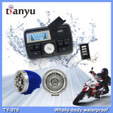 Acessórios do velomotor do jogador do USB MP3 da motocicleta do sistema de alarme da motocicleta