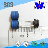 Индуктор сердечника барабанчика размера 2.2mh 8*8.3mm радиальный освинцованный