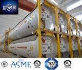 40FT 22 de Container van de Tank van LPG van het Koolstofstaal van de Druk van de Staaf 51000L Door ASME U2 wordt goedgekeurd die