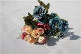 Дешевые искусственние цветки Rose для Centerpieces таблицы венчания