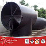 Te del tubo de Sch 40 Euqal del acero de carbón