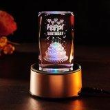 Laser-Gravierfräsmaschine des Kristallglas-3D für persönliche Entwürfe, Geschenke