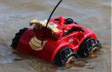 장난감이 소녀를 위한 놀라운 일 복수자 전기 RC 수륙 양용 차에 의하여 농담을 한다