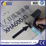 Insignia manual de la impresión de la máquina de la codificación de la inyección de tinta del tratamiento por lotes de Cycjet Alt382 en la madera