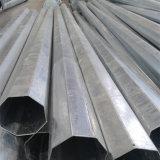 Pólo de aço galvanizado Octagonal