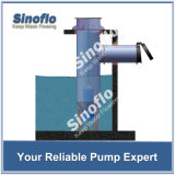 A drenagem inundada axial/misturou a bomba submergível da água de esgoto/da secagem do fluxo