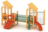 Cour de jeu 2014 extérieure en bois (TY-41011)