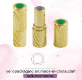 Câmaras de ar de empacotamento de carimbo quentes do batom do recipiente do batom do batom (YELLO-155)