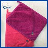 Essuie-main propre de lavage d'ouatine de corail (QHD99809)