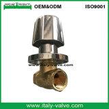Valvola d'ottone forgiata di vendita calda della parte inferiore di arresto (AV4070)