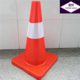 50cm 유럽인 Standard Orange Road Traffic Safety PVC Cone