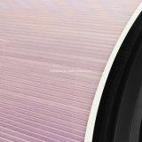 Ventana de cristal curvado con Honeycomb motorizado Sombras interior