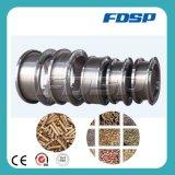 O anel o mais novo do aço inoxidável morre para os dados de madeira da máquina da pelota do moinho da pelota