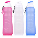 Squeezable Food Grade Silicone Travel Bottle Outdoor Sports Bottle