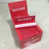 Papel de rolamento do cigarro do estilo da alta qualidade 90*65mm Bambu