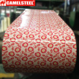Qualität prägte Farbe beschichteten galvanisierten Stahlring PPGI